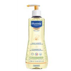 Mustela Душ-олио за суха кожа при бебета и деца 500 мл