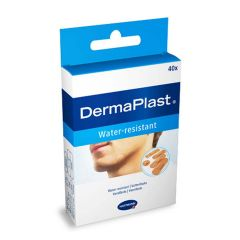 Hartmann DermaPlast Water-resistant Водоустойчив пластир за малки повърхностни рани 5 размера x40 бр