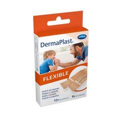 Hartmann DermaPlast Flexible Еластичен пластир за малки повърхностни рани 2 размера x20 бр