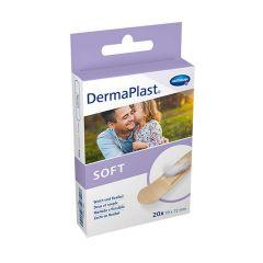 Hartmann DermaPlast Soft Дишащ мек пластир за бързо лечение на малки рани 19x72 мм x20 бр