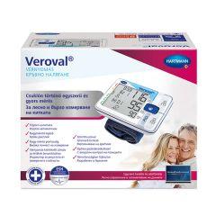 Електронен апарат за измерване на кръвно налягане за китка Hartmann Veroval
