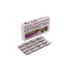 NaturProdukt Оптихепан формула за чернодробното здраве х30 капсули