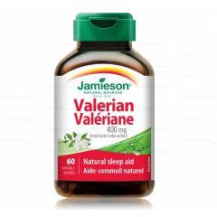 Jamieson Valerian Валериана 400 мг х 60 капсули