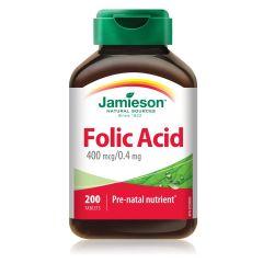 Jamieson Folic Acid Фолиева киселина 0,4 мг х 200 таблетки