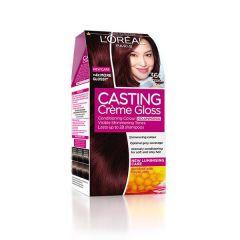 Loreal Casting Creme Gloss Боя за коса без амоняк, 360  Black cherry