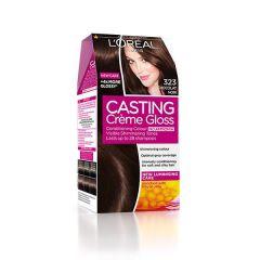 Loreal Casting Creme Gloss Боя за коса без амоняк, 323 Dark Chocolate