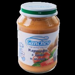 Ganchev Пюре картофи с ориз и мляко 4М+ 190 гр
