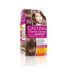 Loreal Casting Creme Gloss Боя за коса без амоняк, 780 Caramel Mochaccino