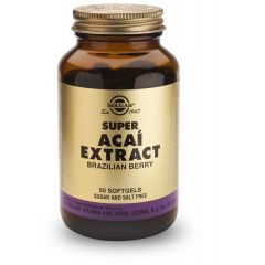Solgar Super Acai Extract Супер Акай Екстракт х50 капсули