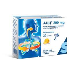 АЦЦ при кашлица 200 мг х20 сашета Sandoz