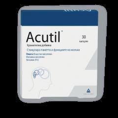 Acutil за памет и концентрация х 30 капсули Angelini