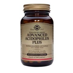 Solgar Advanced Acidophilus Plus Пробиотик Ацидофилус Плюс х60 капсули