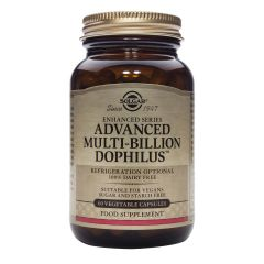 Solgar Advanced Multi-billion Dophilus Адванс Мултибилион Дофилус стимулира стомашно чревния тракт х60 капсули