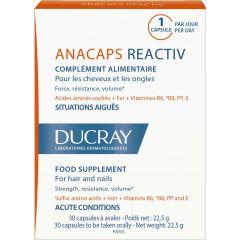 Ducray Anacaps Reactive Хранителна добавкасрещу реактивен косопад х 30