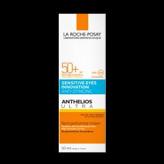 La Roche-Posay Anthelios UltraСлънцезащитен оцветен крем за лице и чувствителни очиSPF50+ 50 мл
