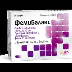 Aro Life Фемибаланс при менопауза х30 капсули