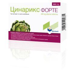 Цинарикс Форте при храносмилателни проблеми 600 мг х30 таблетки Montavit