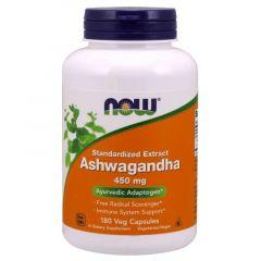 Now Foods Ashwagandha Ашваганда 450 мг х 180 капсули