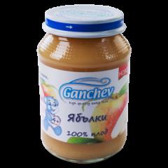 Ganchev Пюре ябълки, 100% плод 4М+ 190 гр