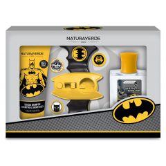 Naturaverde Kids Batman II Комплект Батман за момчета с магична гривна с изстрелващи се дискове