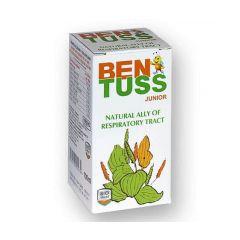 Ben Tuss Junior Сироп за деца против кашлица 100 мл BIOshield