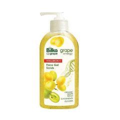 Bilka Grape Energy Hyaluron+ Хидратиращ гел-скраб за лице с екстракт от бяло грозде 200 мл