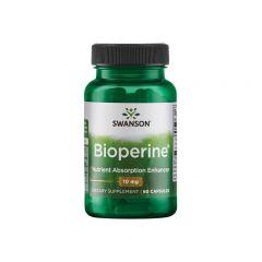 Swanson Bioperine Биоперин 10 мг х 60 капсули
