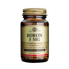 Solgar Boron Бор при менопауза x100 капсули