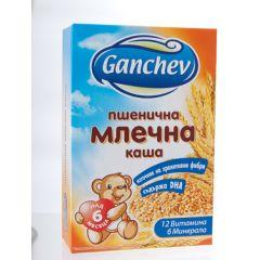 Ganchev Пшенична млечна каша с омега 3 6М+ 200 гр