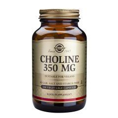 Solgar Choline Xoлин за отимална функция на черния дроб 350 мкг х100 капсули
