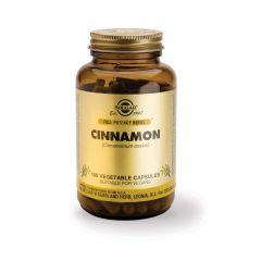 Solgar Cinnamon Канела при висока кръвна захар x100 капсули