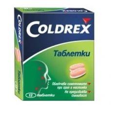Coldrex Колдрекс при настинка и грип х12 таблетки GlaxoSmithKline
