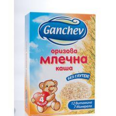 Ganchev Оризова млечна каша без глутен 4М+ 200 гр