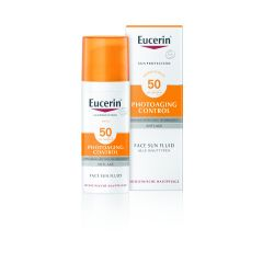 Eucerin Sun Photoaging Control Слънцезащитен флуид за лице SPF50 50 мл
