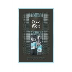Dove Men+ Care Clean Comfort Дезодорант против изпотяване за мъже 150 мл + Dove Men+ Care Clean Comfort Хидратиращ душ-гел за лице и тяло за мъже 250 мл Комплект