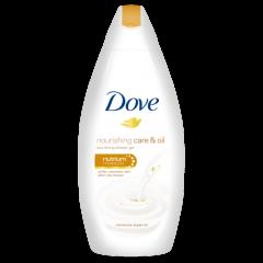 Dove Nourishing Care & Oil Подхранващ душ гел за тяло с арганово масло 250 мл