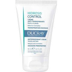 Ducray Hidrosis Control Крем против изпотяване на ръце и крака 50 мл