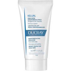 Ducray Kelual Кераторегулираща емулсия за лице и скалп при бебета 50 мл