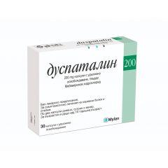 Дуспаталин при коремни болки 200 мг х 30 капсули Mylan