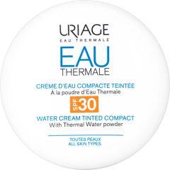 Uriage Eau Thermale Термална хидратираща крем-пудра за лице с фактор SPF30 10 грама
