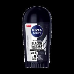 NiveaМen Black & White Invisible Original Дезодорант стик против изпотяване за мъже 40 мл