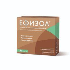 Ефизол при болно гърло 250 мг х20 таблетки за смучене Actavis