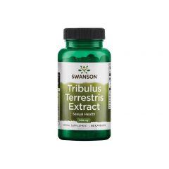 Swanson Tribulus Terrestris Extract Екстракт от Бабини зъби 500 мг х60 капсули