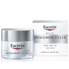 Eucerin Hyaluron-Filler Дневен крем за суха кожа SPF15 50 мл