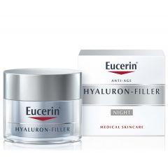 Eucerin Hyaluron-Filler Нощен крем за всеки тип кожа 50 мл