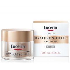 Eucerin Hyaluron-Filler + Elasticity Нощенкрем за всеки тип кожа 50 мл