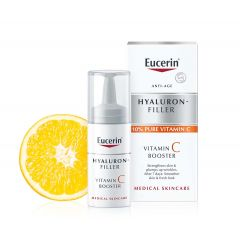 Eucerin Hyaluron-Filler Подмладяващбустер за лицес витамин С 1х8 мл