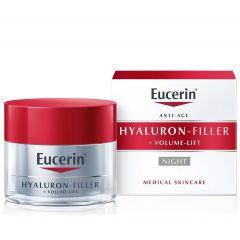 Eucerin Hyaluron-Filler + Volume-Lift Нощенкрем за всеки тип кожа 50 мл