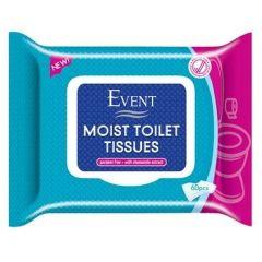 Event Тоалетни мокри кърпи с екстракт от лайка 60 бр