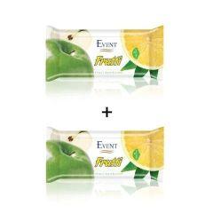 Event Frutti Промо пакет Почистващи мокри кърпи с аромат на ябълка и лимон 2x15 бр